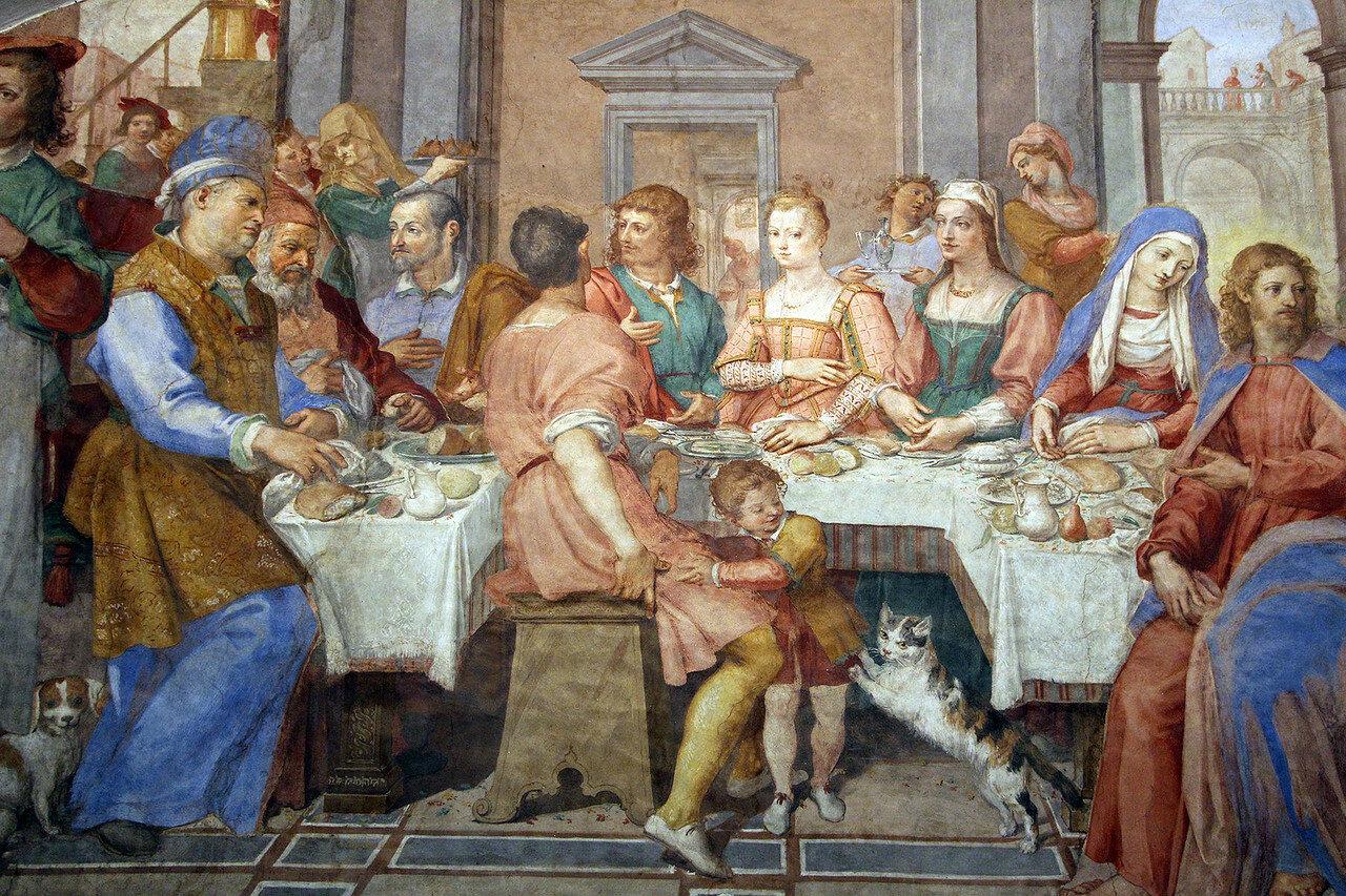Bernardino_poccetti,_nozze_di_cana,_1604,_07.JPG