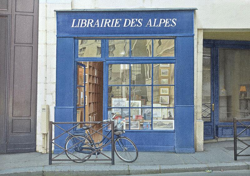 La librairie des Alpes
