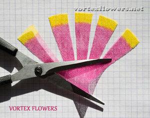 Мастер-класс. Хризантема из ткани «Ягодка» от Vortex  0_fbf8f_ce84d477_M