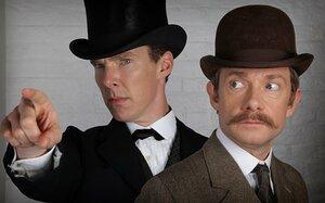 Герои сериала «Шерлок» предстанут в классическом образе