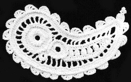 爱尔兰之火腿纹图解(160) - 柳芯飘雪 - 柳芯飘雪的博客