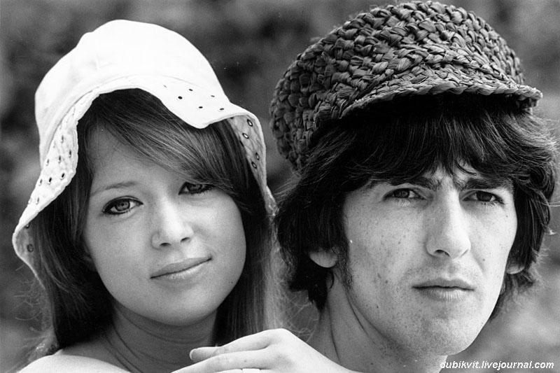 1162 Джордж Харрисон проводит медовый месяц со своей женой Патти Бойд. 14 февраля 1966 года. Барбадос.jpg