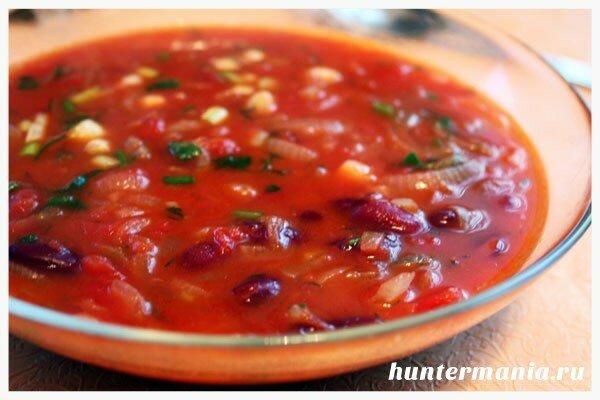 Суп с фасолью в мультиварке (рецепт)