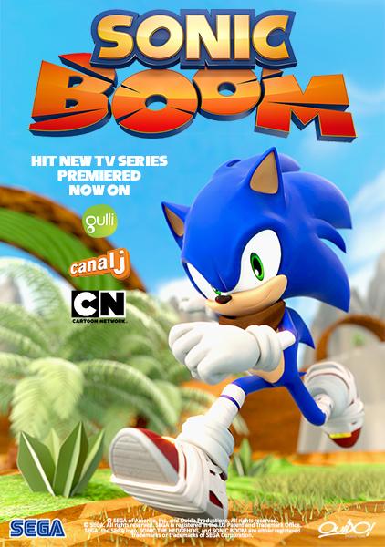 Соник Бум / Sonic Boom / Сезон: 1 / Серии: 8 из 14 (Наталис Раут Сьюзак / Natalys Raut Sieuzac) [2014-2015, фэнтези, боевик, комедия, приключения,HDTVRip] MVO + Original Eng