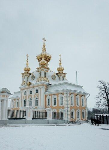 Дворцовая церковь Петергофа
