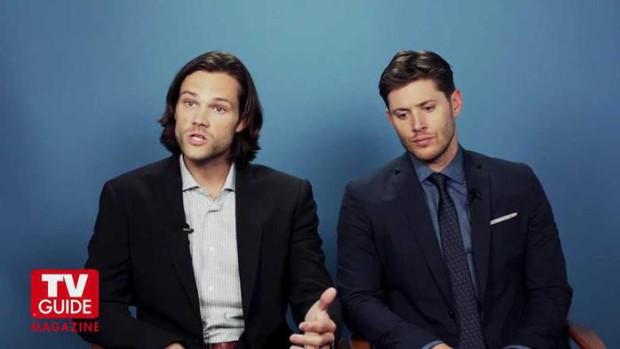 Интересные кадры и цитаты из интервью Дженсена и Джареда для TV Guide