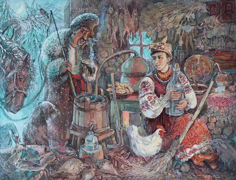 Николай Васильевич Гоголь - Ночь перед Рождеством - Мицник Александр
