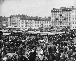 Покровский рынок. 28 марта 1914