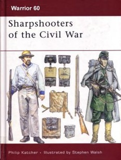 Книга Osprey - Warrior - 060 - Sharpshooters Of The American Civil War 1861-65