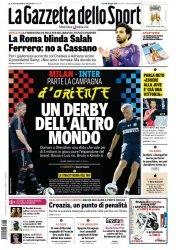 Журнал La Gazzetta dello Sport  (24 Luglio 2015)