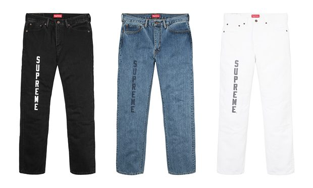 Supreme X Levi's Spring Summer 2017 Collection