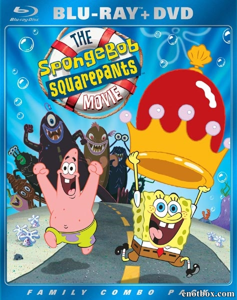 Губка Боб – квадратные штаны / The SpongeBob SquarePants Movie (2004/BDRip/HDRip)