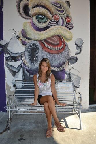 Уличные рисунки в Пенанге