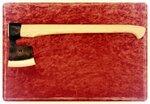 Тайга-6, кованый топор ручной работы