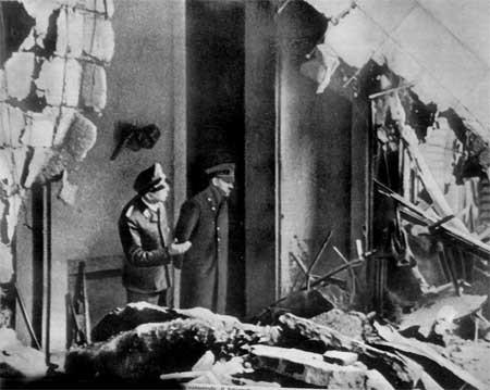 Последний день рождения Гитлера. Всего лишь незадолго  до полного гитлеркапута.