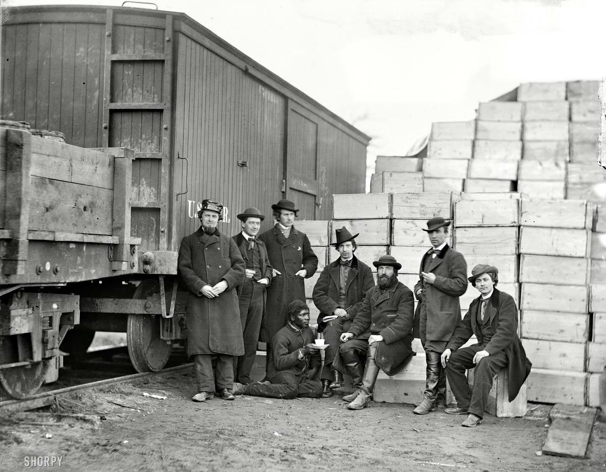 Железные дороги конца 19-го - начала 20-го века на снимках американских фотографов (3)