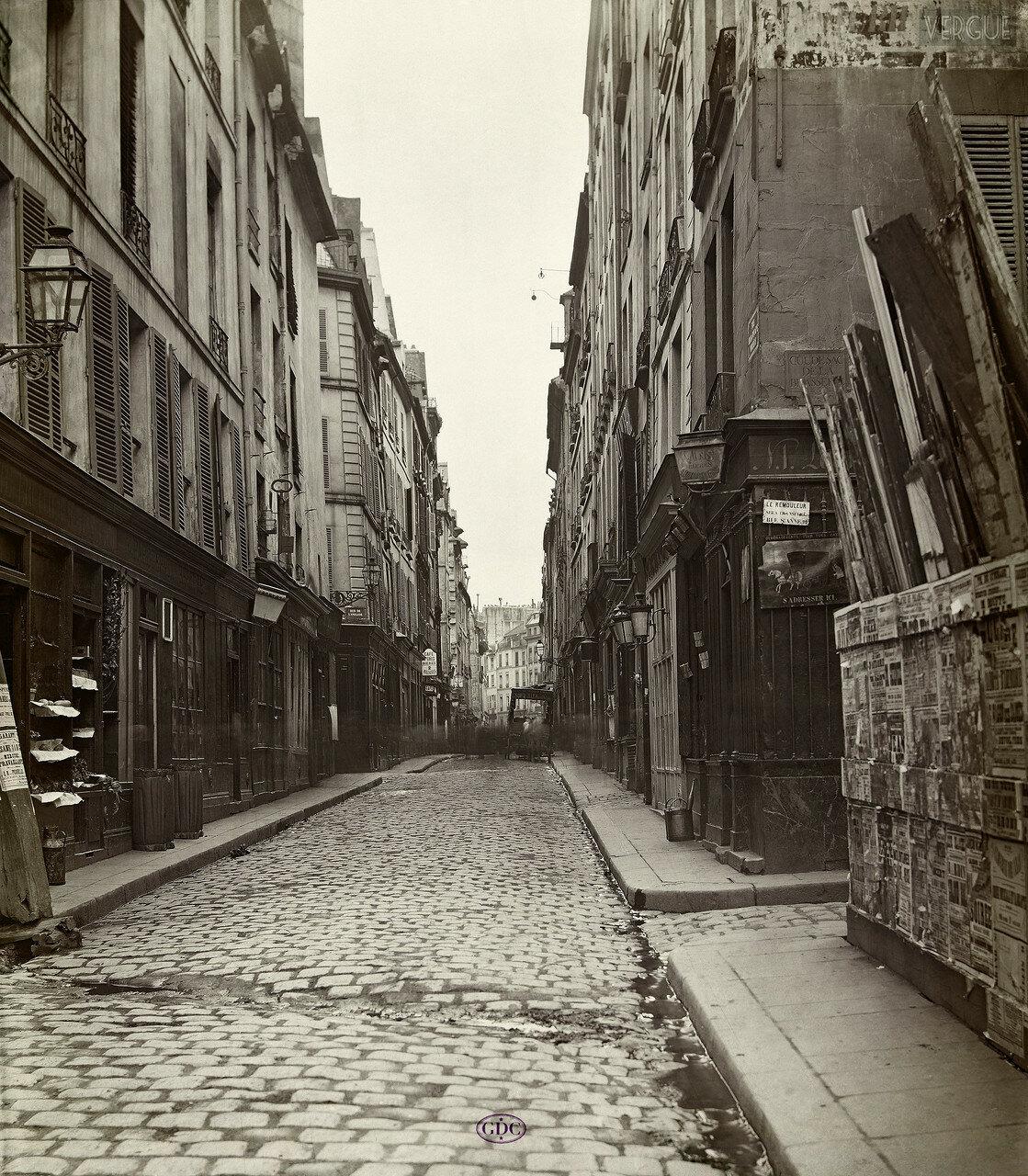 Рю де ла Фонтейн Мольер . 1866