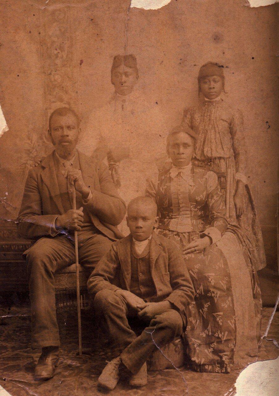 1885-1890. Семья в Луизиане