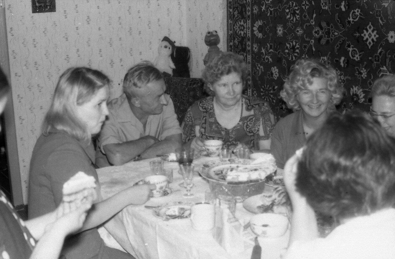 1976. Вологодское застолье