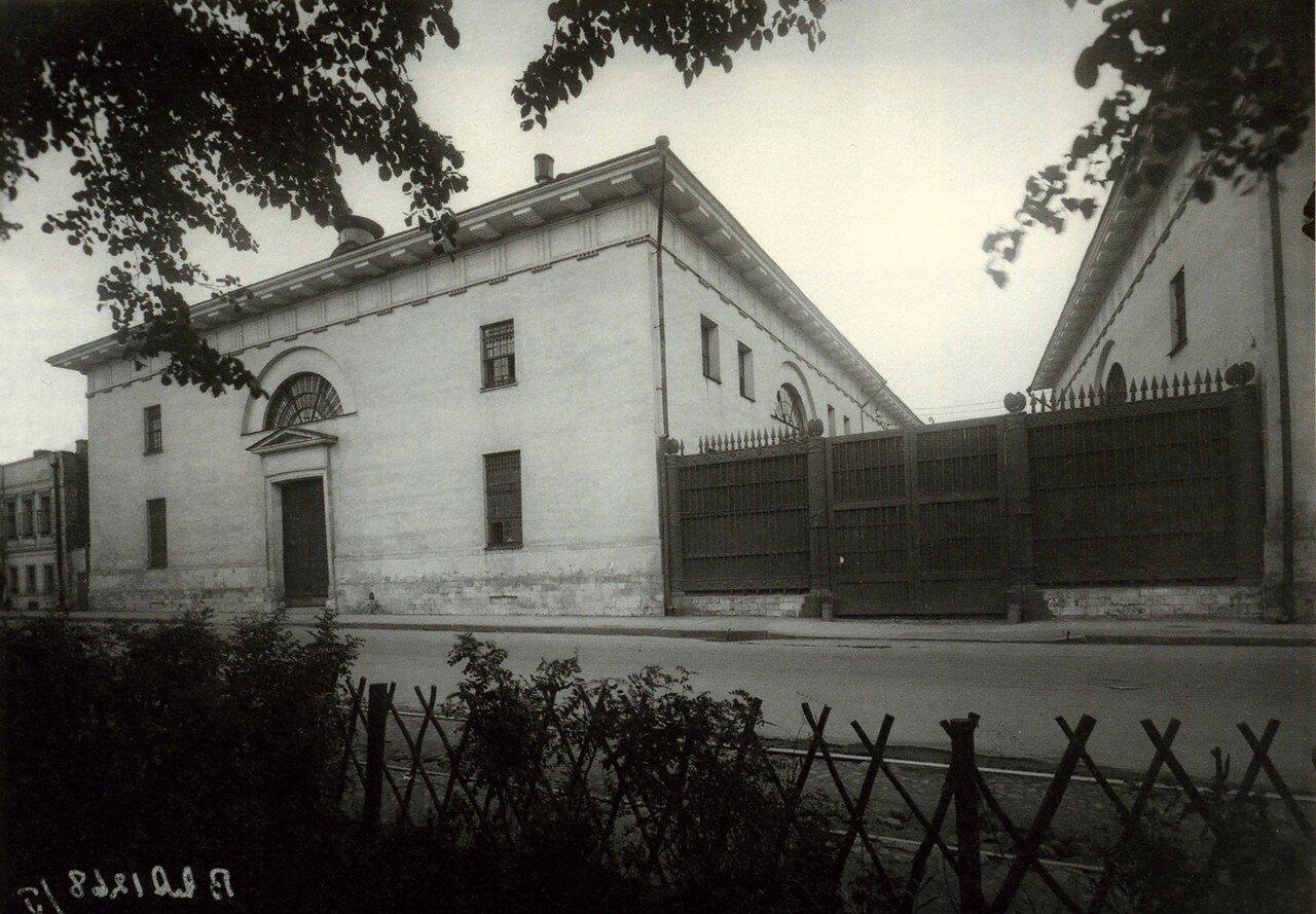 267. Зубовский бульвар. Провиантские магазины. Левое крыло.1910