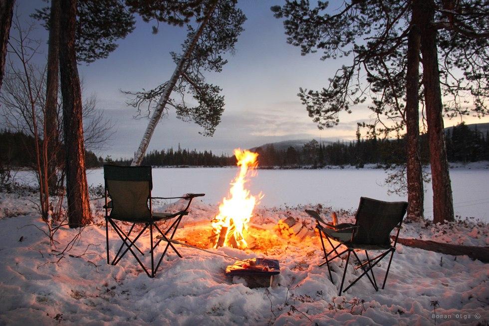 большое покажите пожалуйста картинки отдыхающих зимой у костра может одержать любая