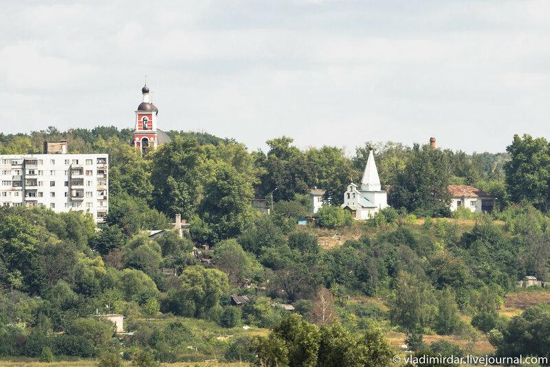 Никольская церковь в Петровском