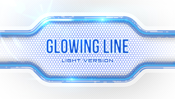 Glowing Line