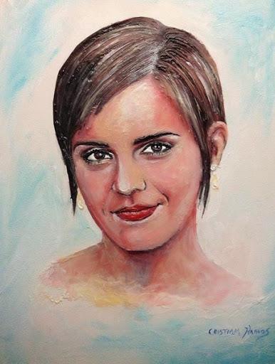 Портреты знаменитостей, написанные зубной пастой 0 12cdec 38f57737 orig