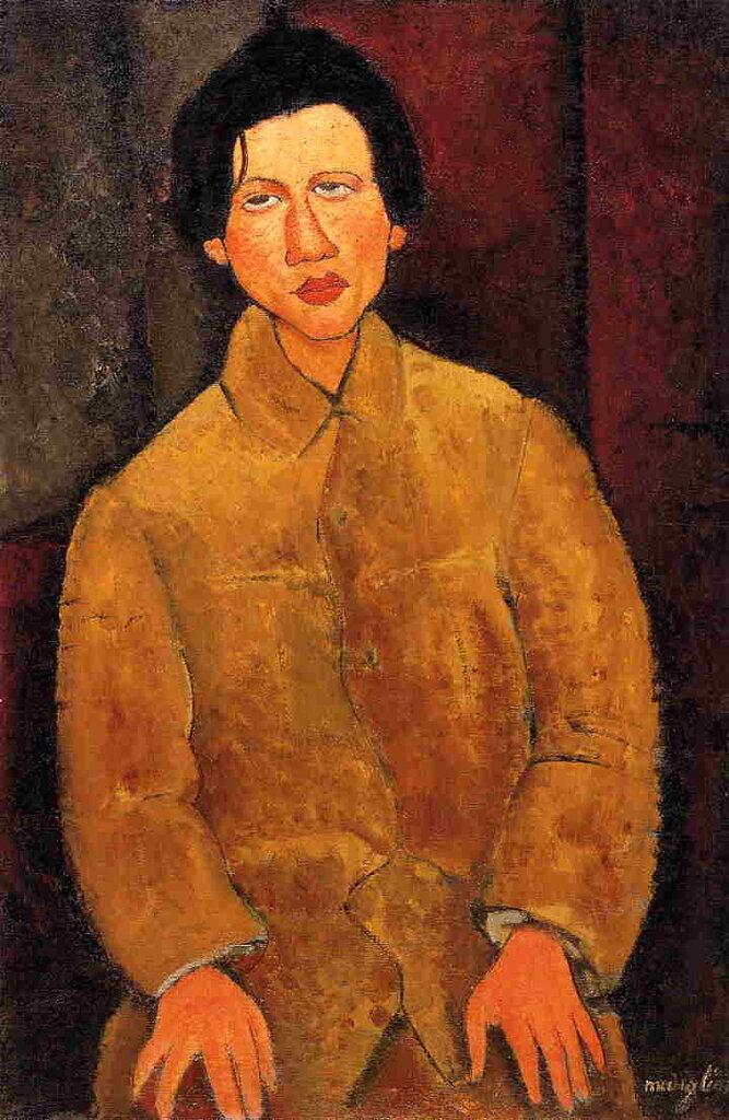 Portrait de Chaïm Soutine - 1916  - 100x65 cm  Paris, Collection Particulière.jpeg