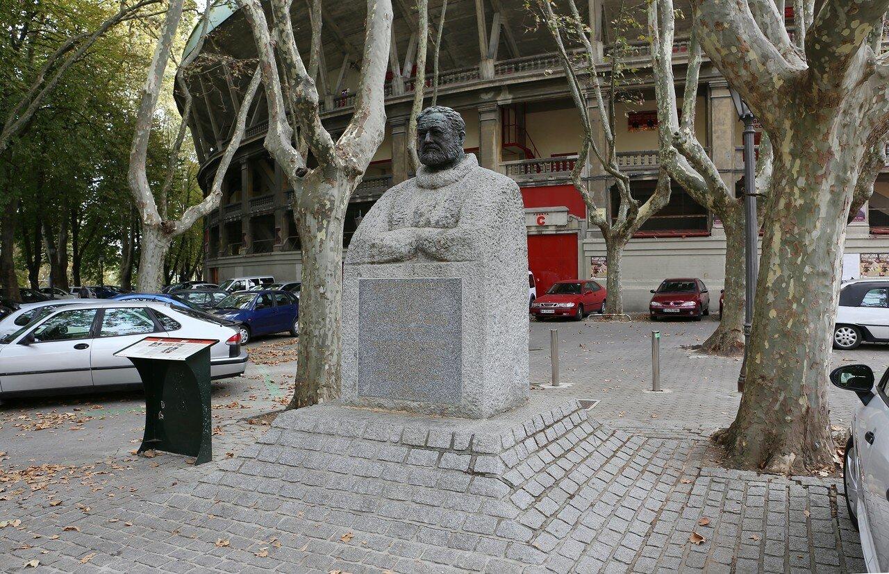 Pamplona. Bullring (Plaza de toros Monumental de Pamplona)