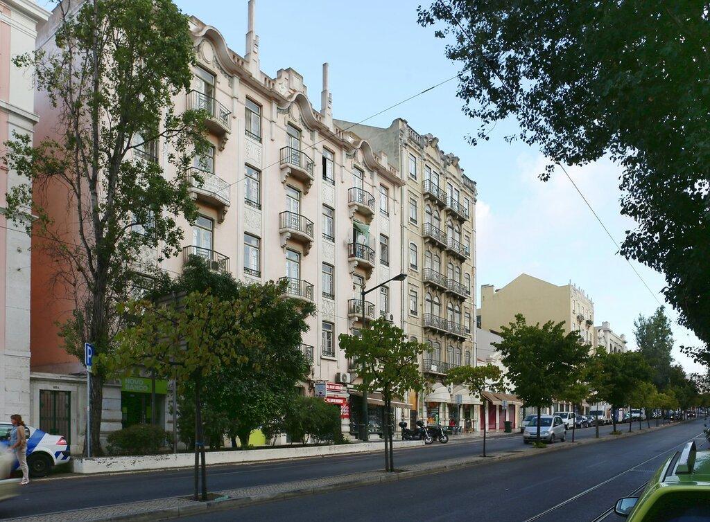 Lisbon. Rua da Palma