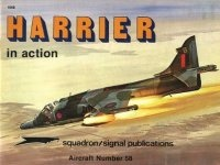 Книга Aircraft No. 58: Harrier in Action.