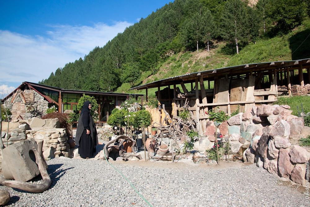 Грузия, монастырь Гвтисмшобели