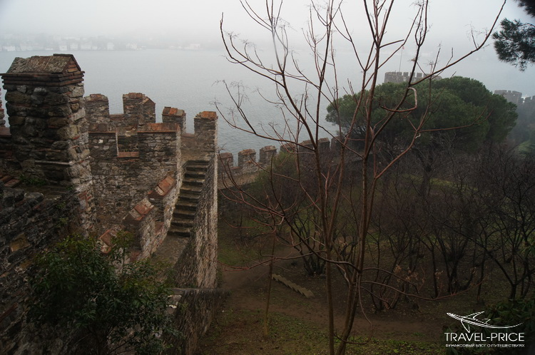 Башни крепости Стамбула