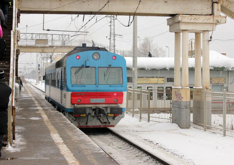 АЧ2-088 на станции Фрязево