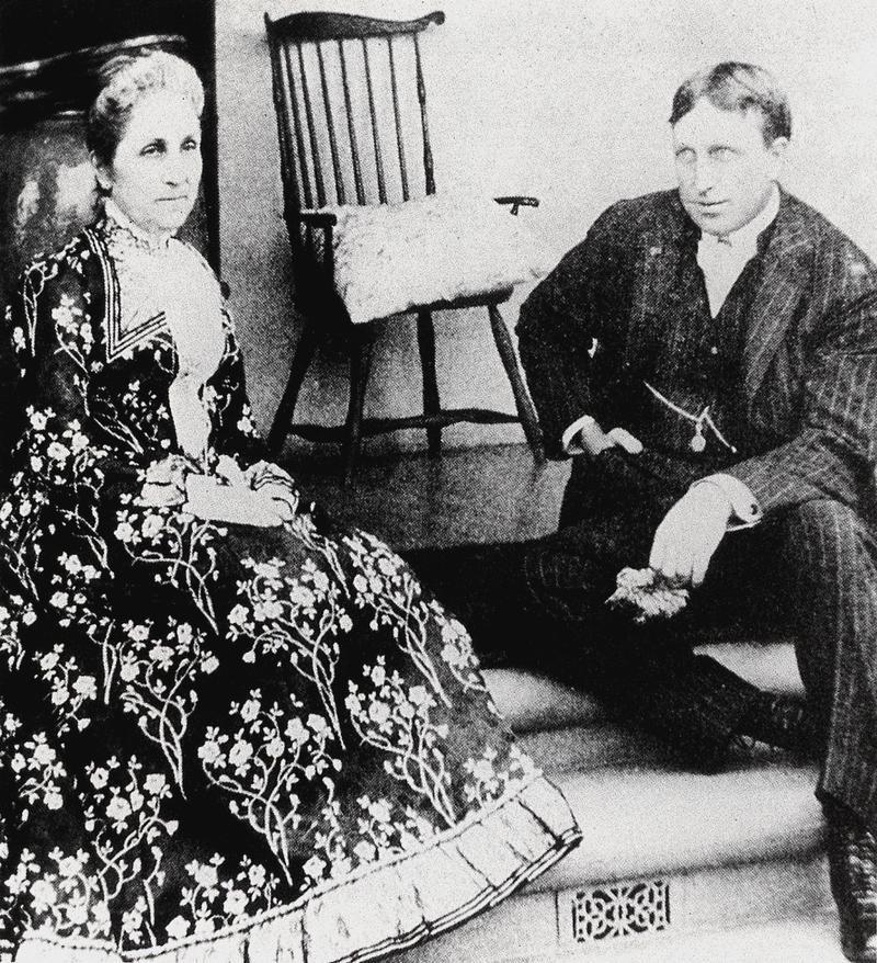 Фиби и Вилли ок 1895