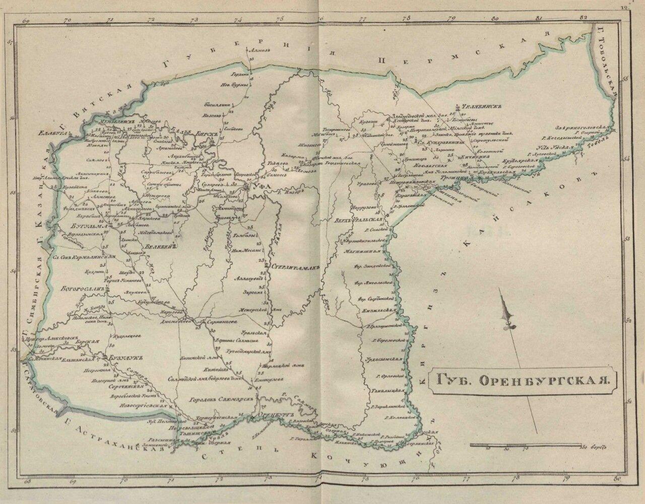 12.Оренбургская губерния
