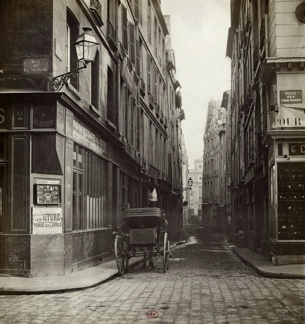 Рю Сен-Жермен-л'Осеруа. 1865
