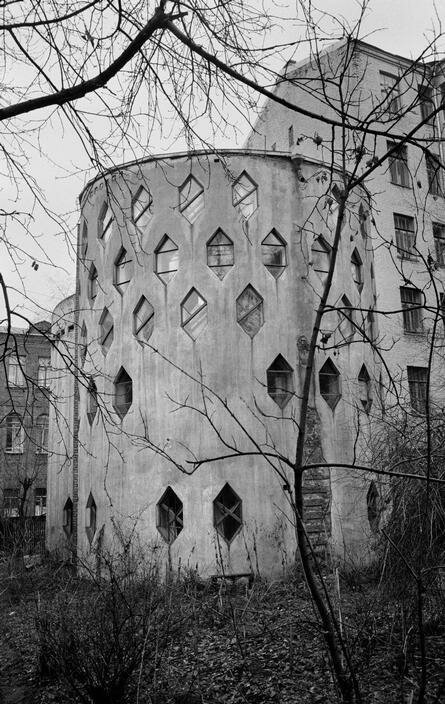 1972. Москва. Дом советского архитектора Константина Степановича Мельникова