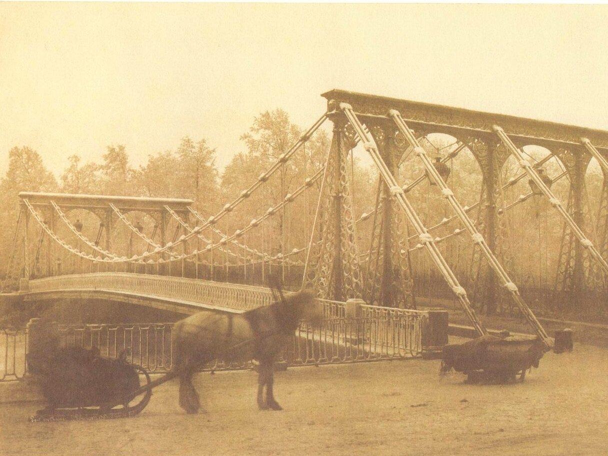 Цепной Пантелеймоновский мост. 1853