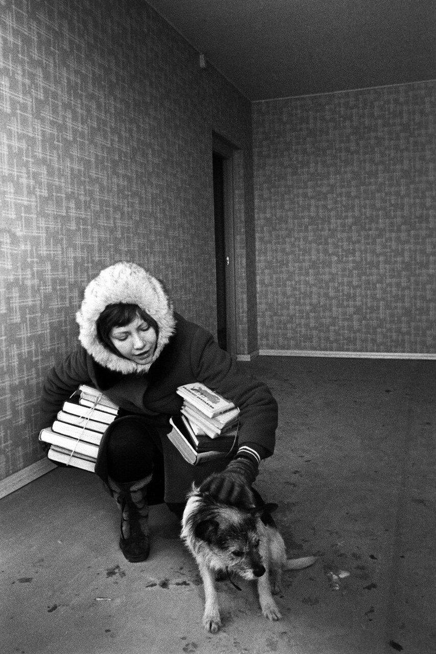 1976. В новой квартире района Орехово-Борисово
