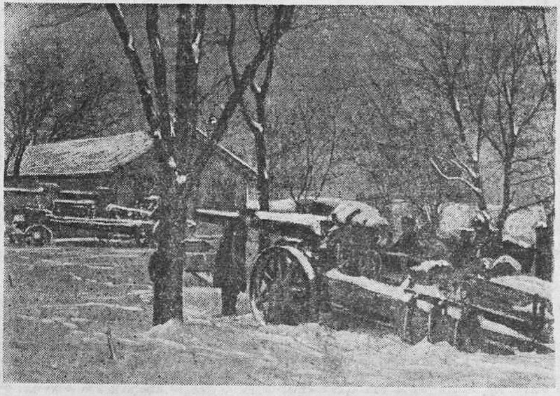 «Красная звезда», 10 января 1942 года, как русские немцев били, артиллерия Второй мировой, советская артиллерия
