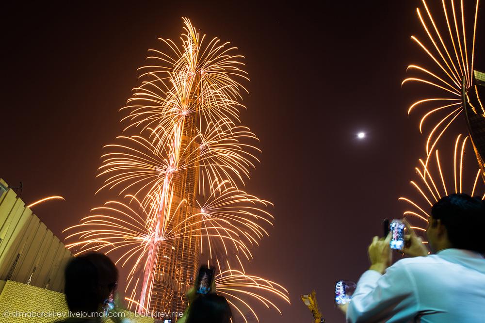 Новый год в Дубае