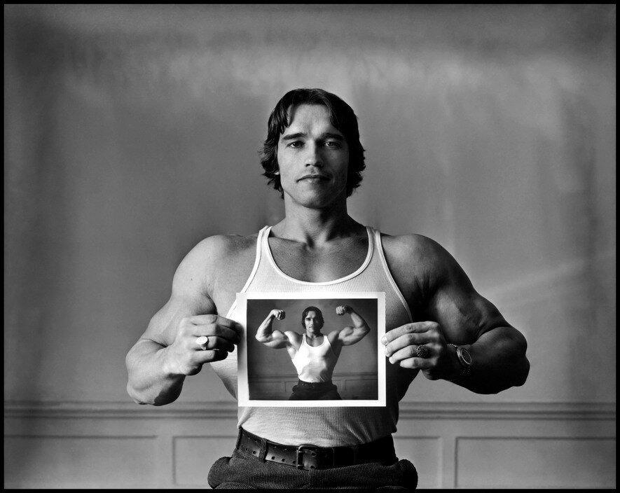USA. 1977. Arnold SCHWARZENEGGER.jpg