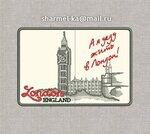 Лондон. ЭСКИЗЫ для вышивки обложки на паспорт, автодокументы, картхолдер