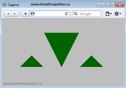 css треугольник