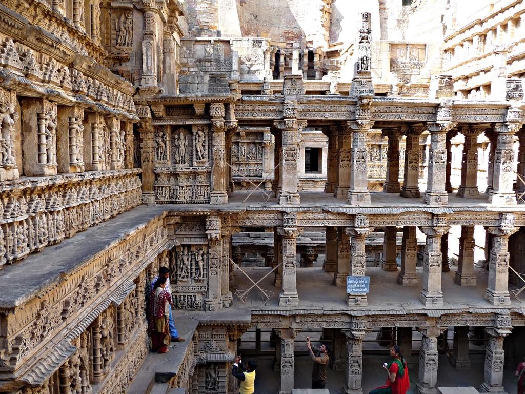 Уникальный колодец Рани ки вав  Древности,Индия