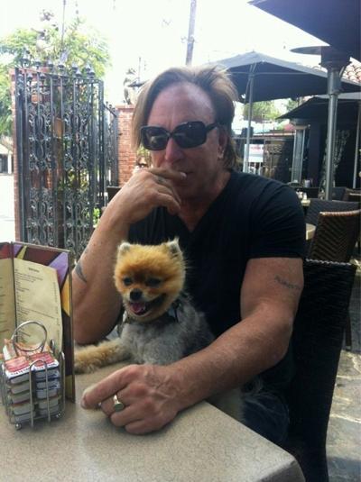 Микки Рурк остался жить благодаря собаке