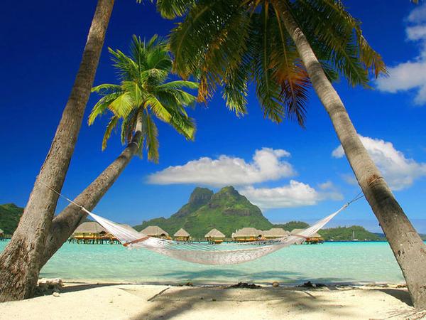 Райские места Французской Полинезии