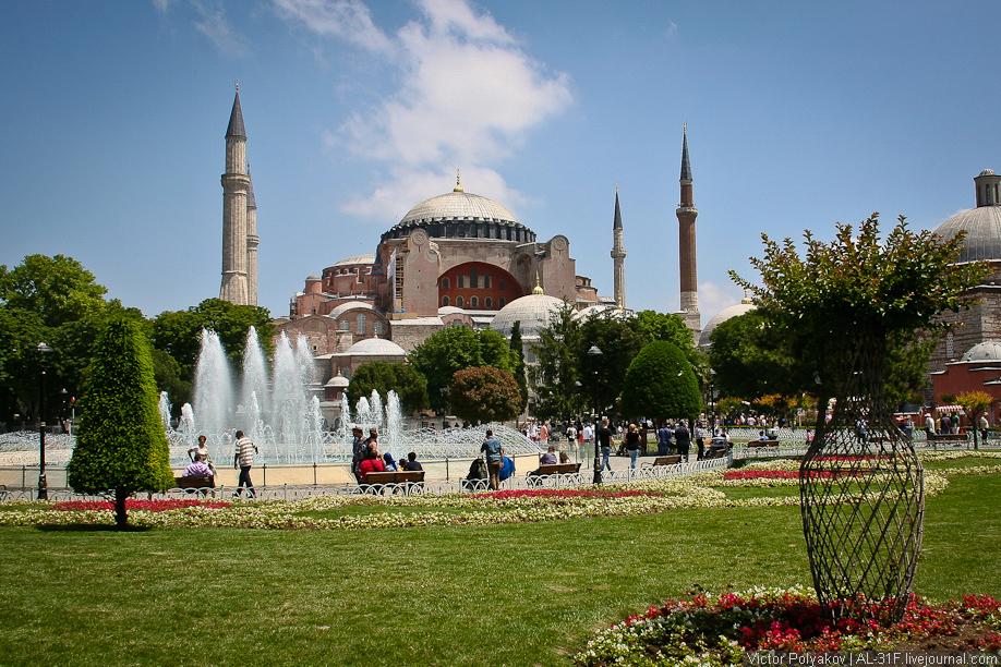 Стамбул. Софийский собор